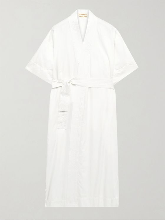 Cleverly Laundry Cotton Robe