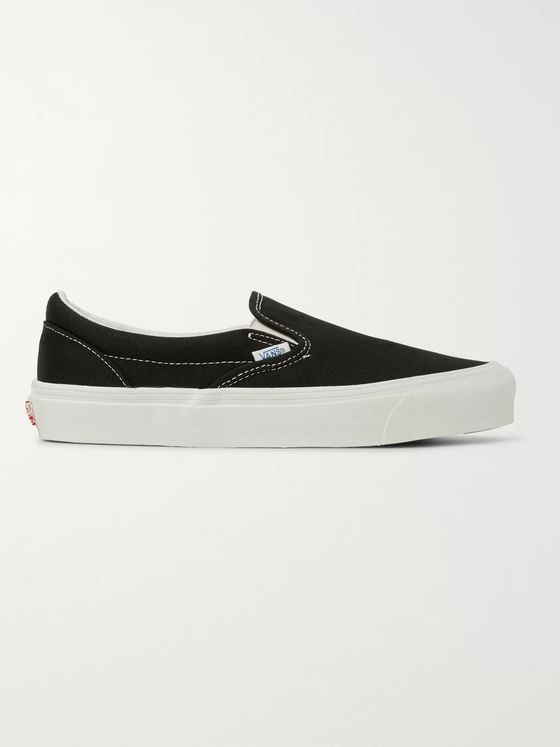Vans OG Classic LX Canvas Slip-On Sneakers