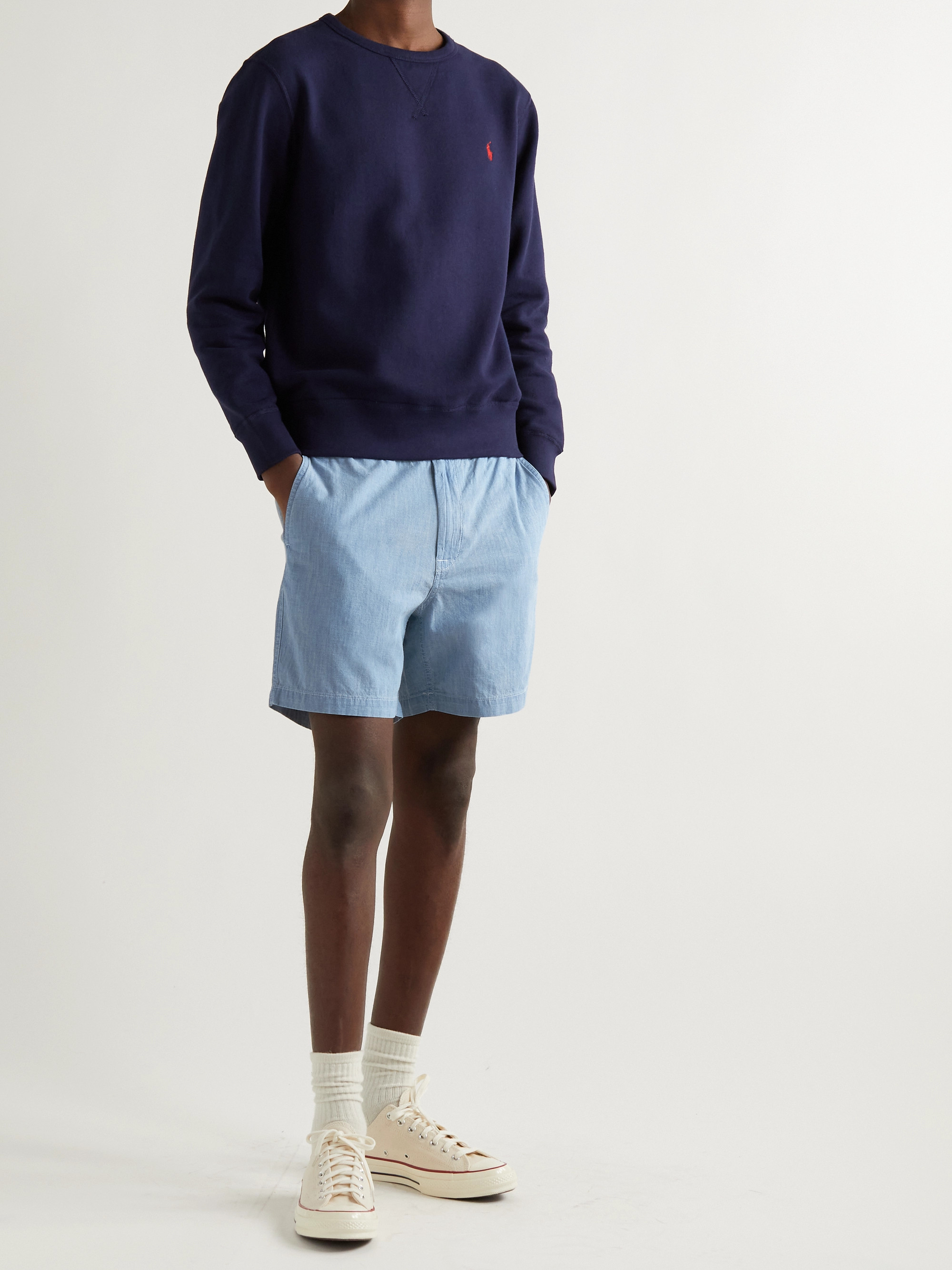 Polo Ralph Lauren Prepster Stretch-Cotton Chambray Shorts