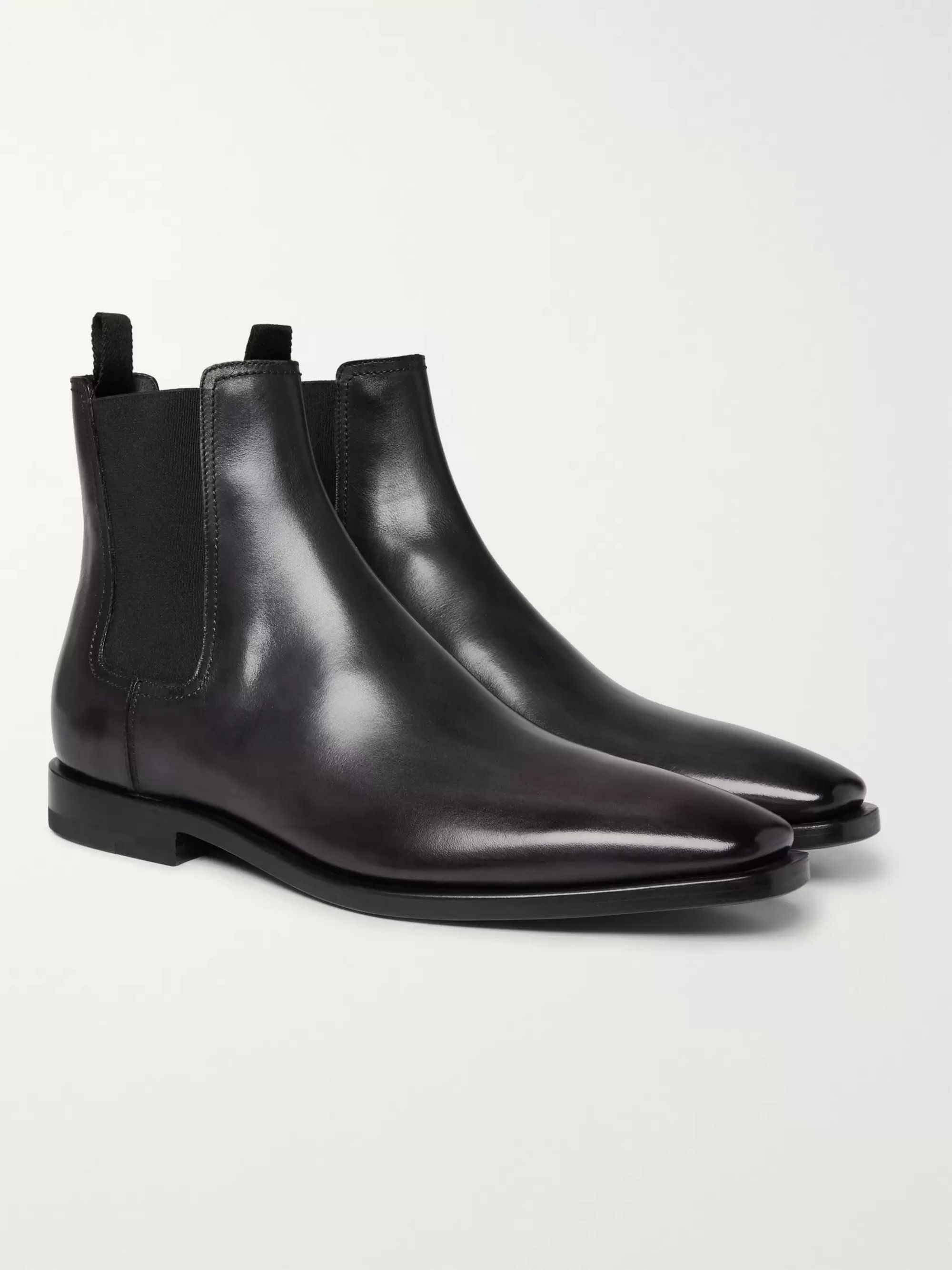 low priced purchase cheap new list Black Leather Chelsea Boots | Berluti | MR PORTER