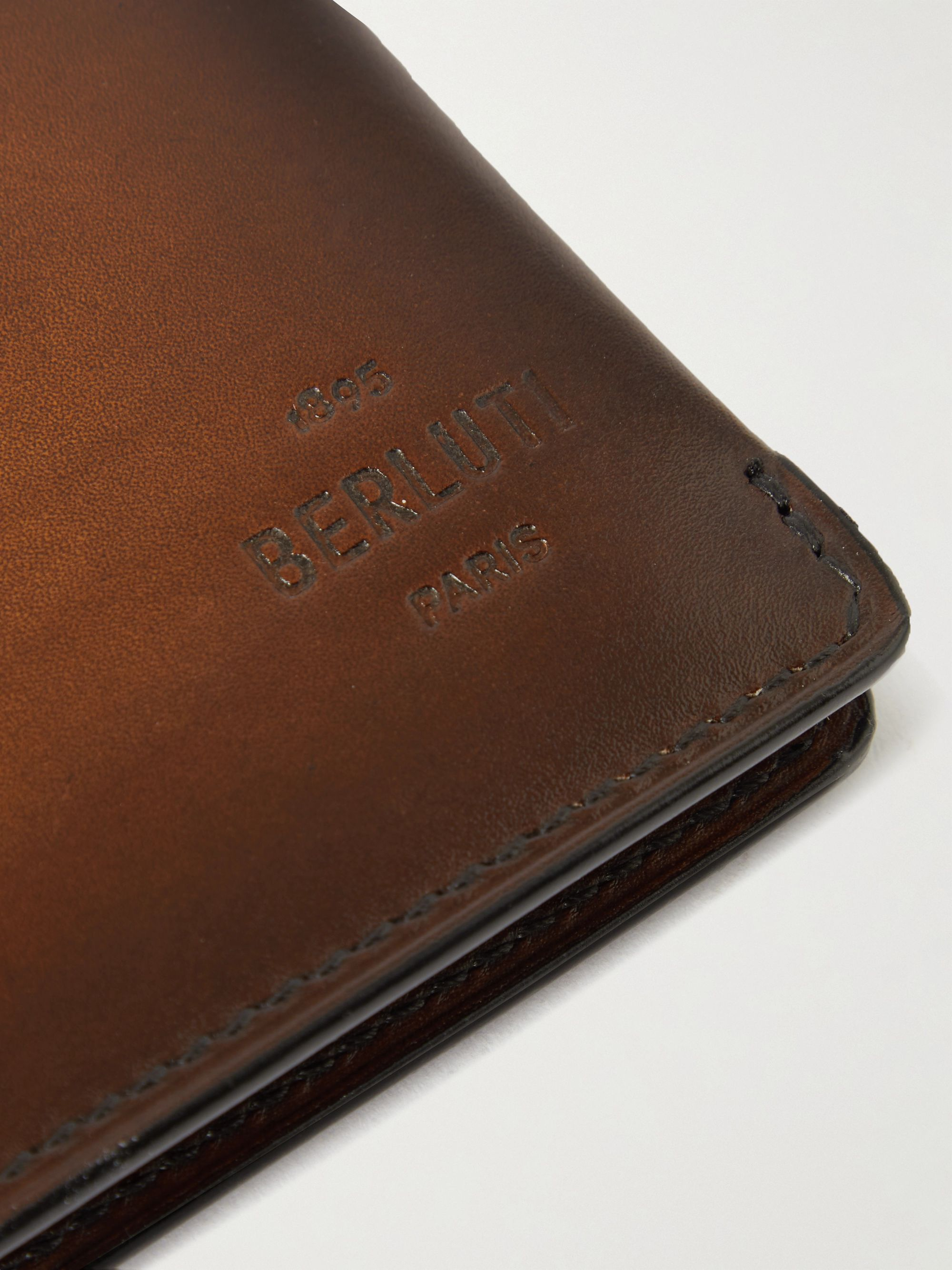 Berluti Leather Billfold Wallet