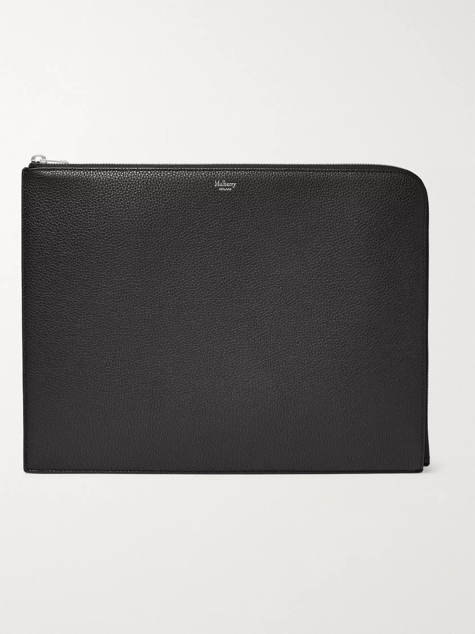 Mulberry Full-Grain Leather Pouch