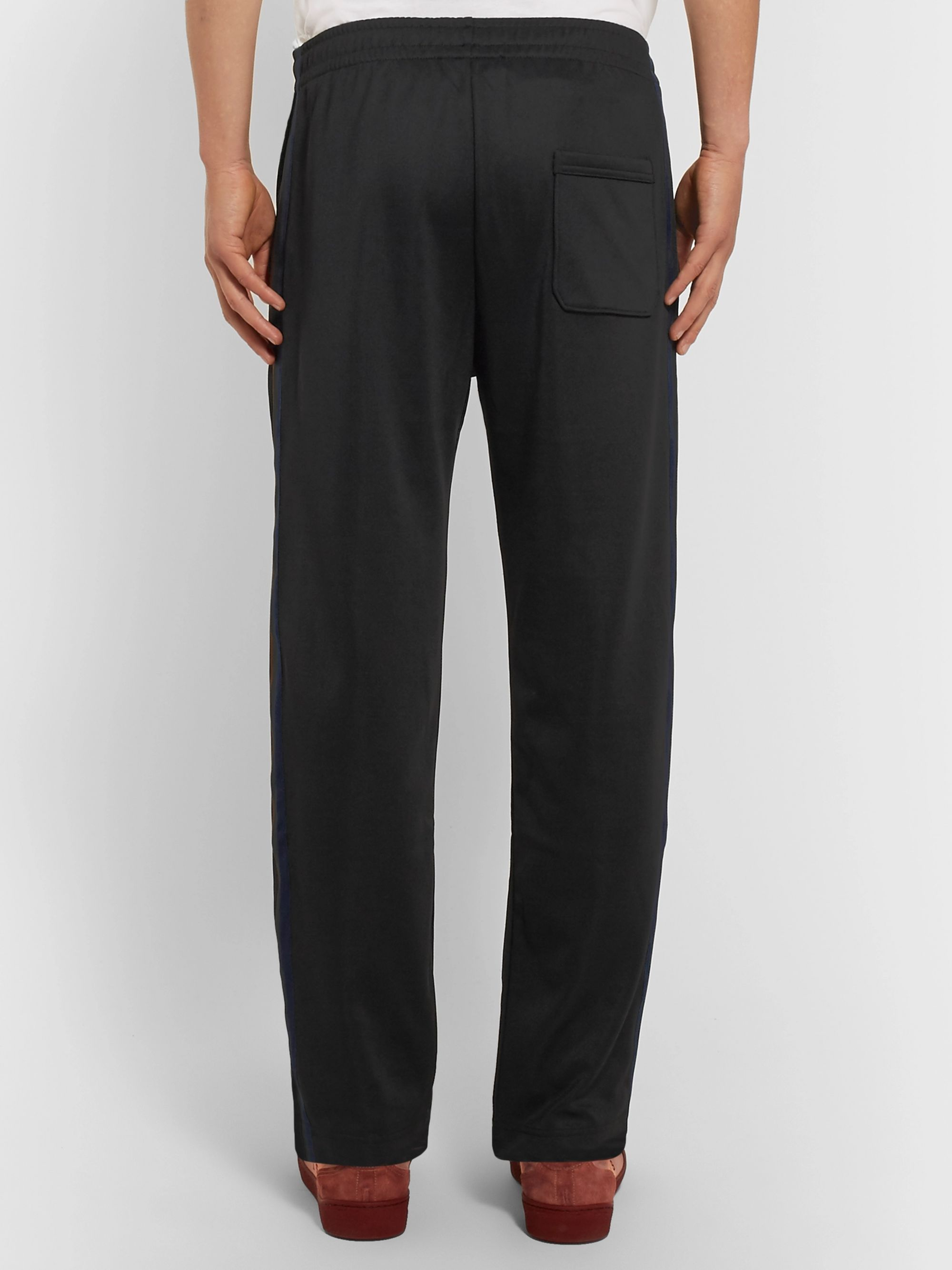 Acne Studios Norwich Grosgrain-Trimmed Jersey Sweatpants