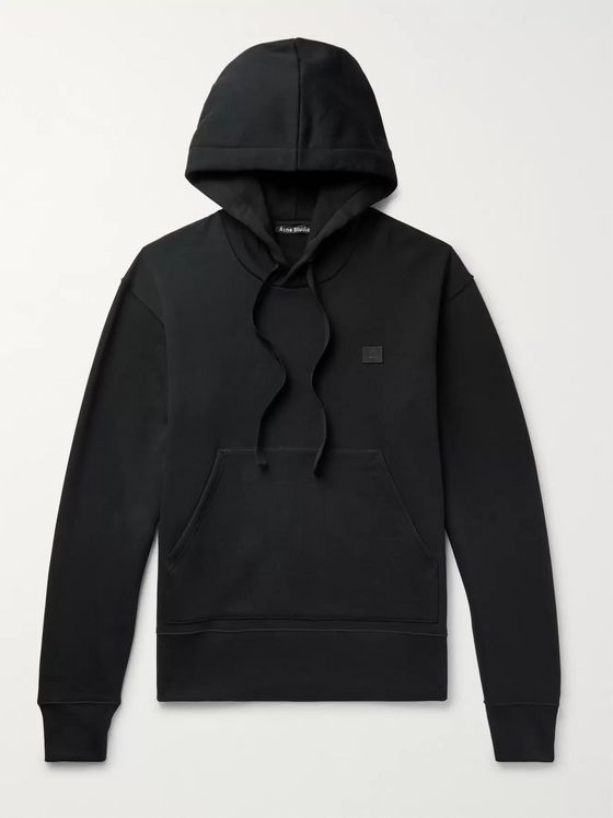Acne Studios Fleece-Back Cotton-Jersey Hoodie
