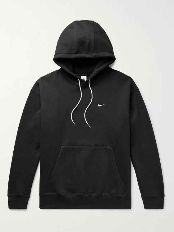 Nike NRG Fleece-Back Cotton-Blend Jersey Hoodie