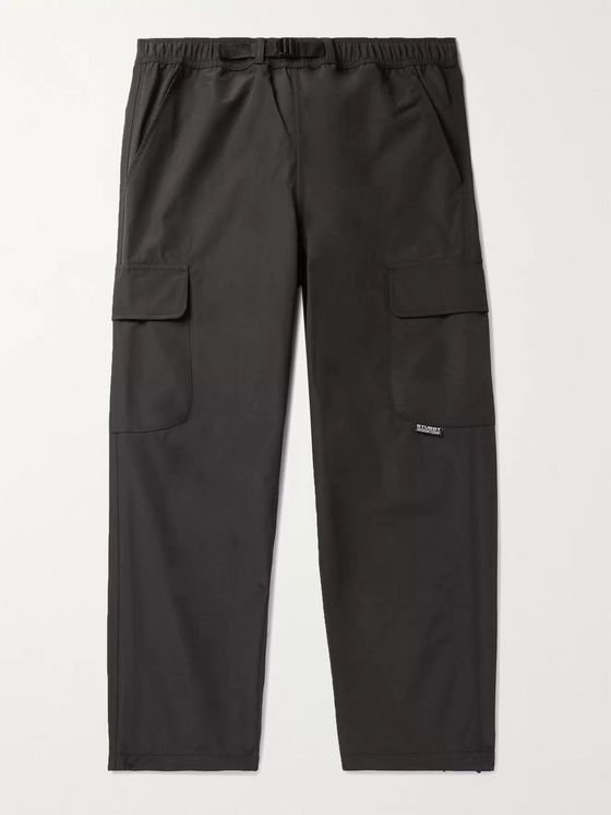 Stüssy Belted Nylon Cargo Trousers