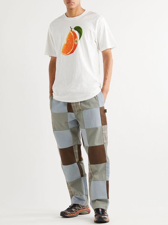 Stüssy Patchwork Cotton Trousers