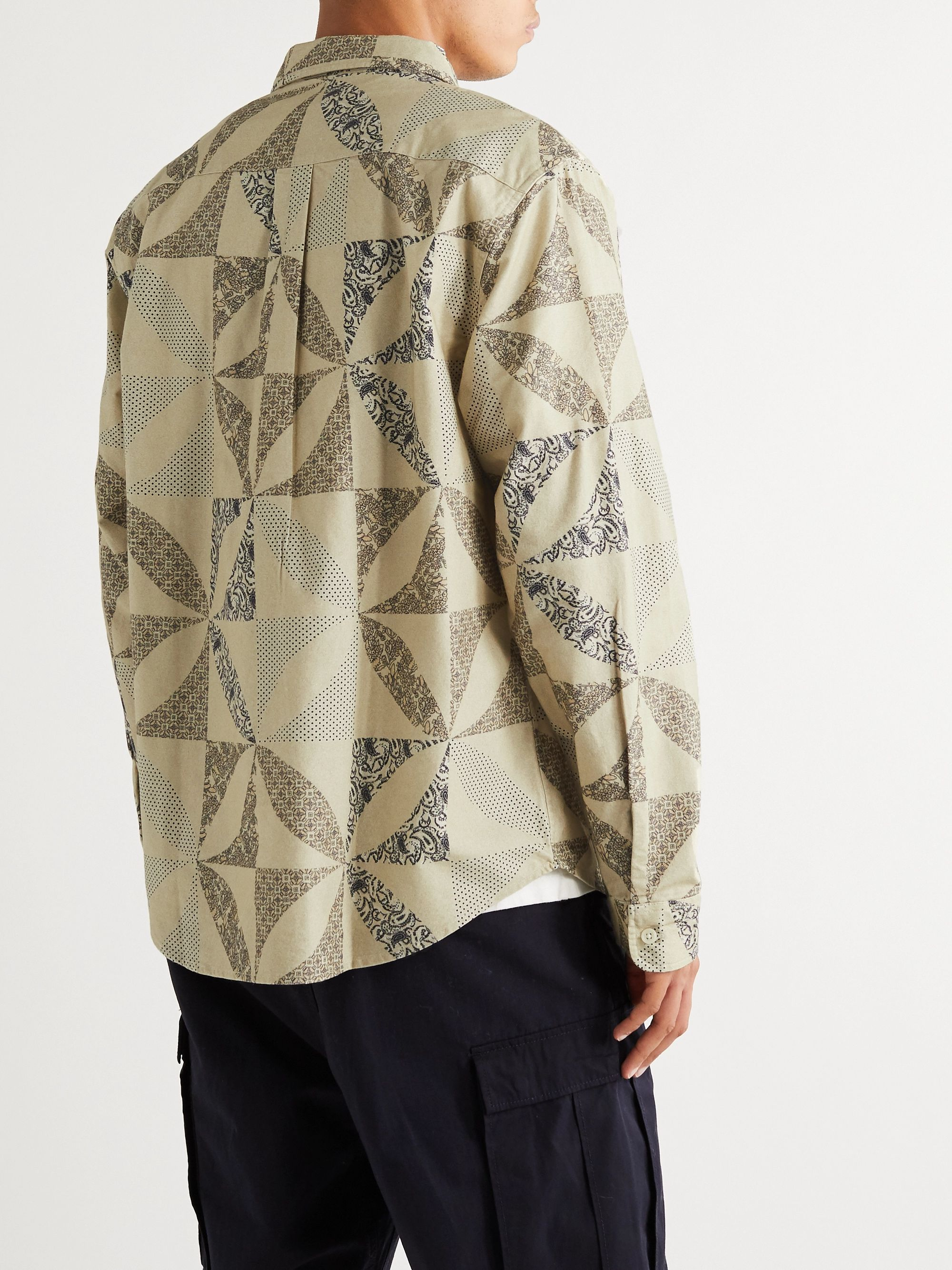 STÜSSY Printed Cotton-Flannel Shirt