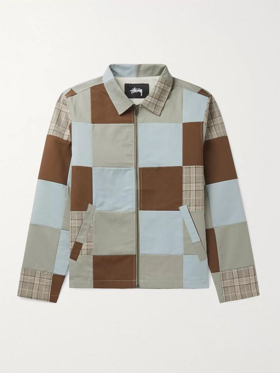 Stüssy Patchwork Cotton Jacket