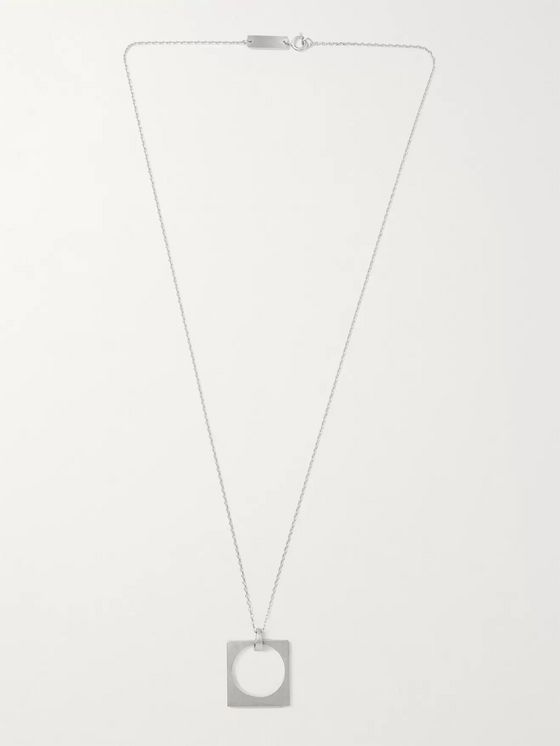 MAISON MARGIELA Silver-Tone Necklace