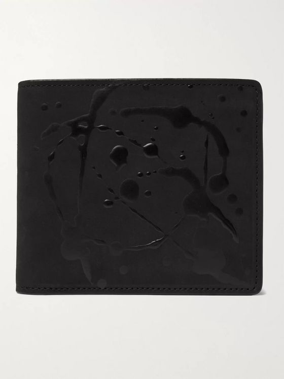 MAISON MARGIELA Logo-Detailed Leather Billfold Wallet