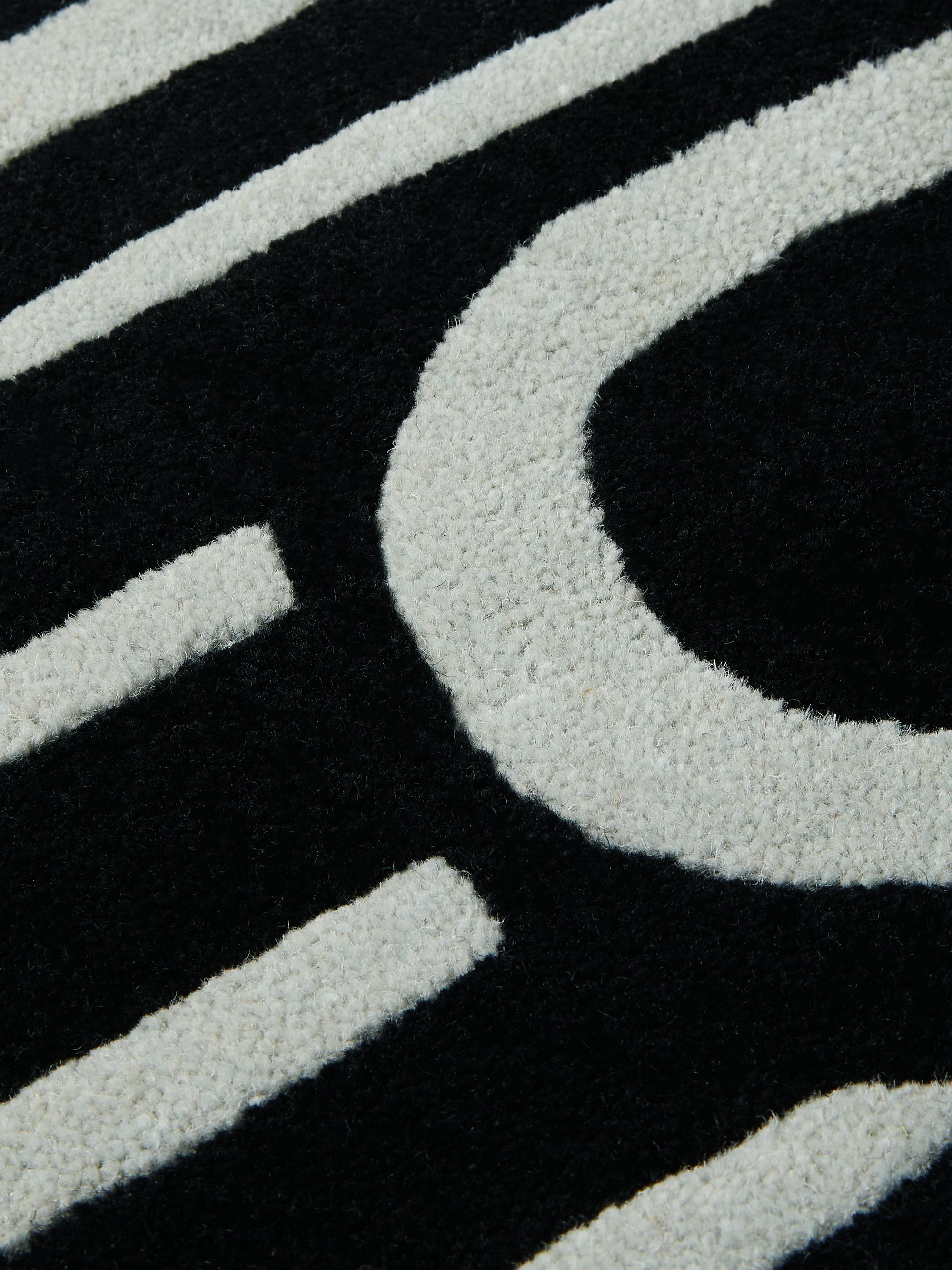 BILLIONAIRE BOYS CLUB Dollar Sign Wool-Jacquard Rug