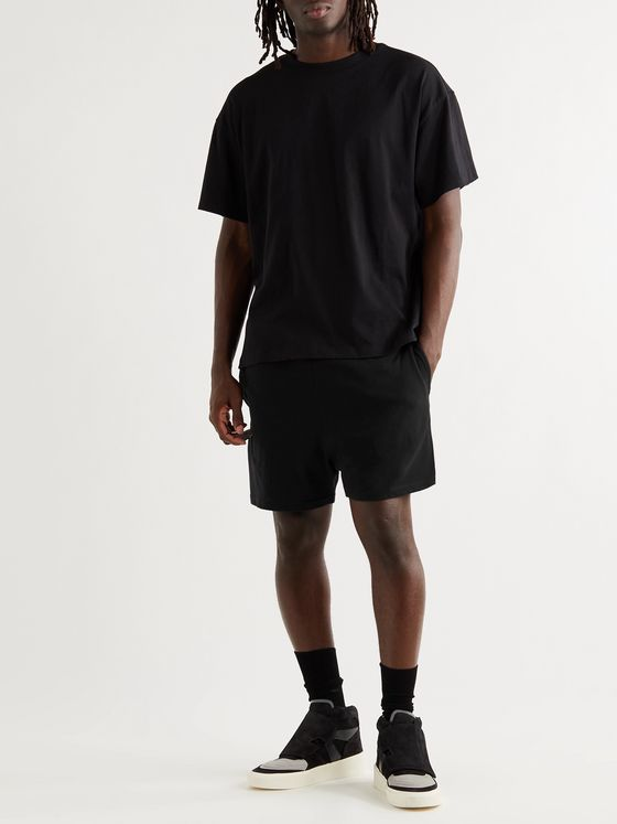 Fear of God Essentials Cotton-Blend Jersey Shorts