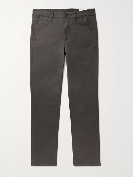 RAG & BONE Fit 2 Slim-Fit Cotton-Blend Twill Trousers