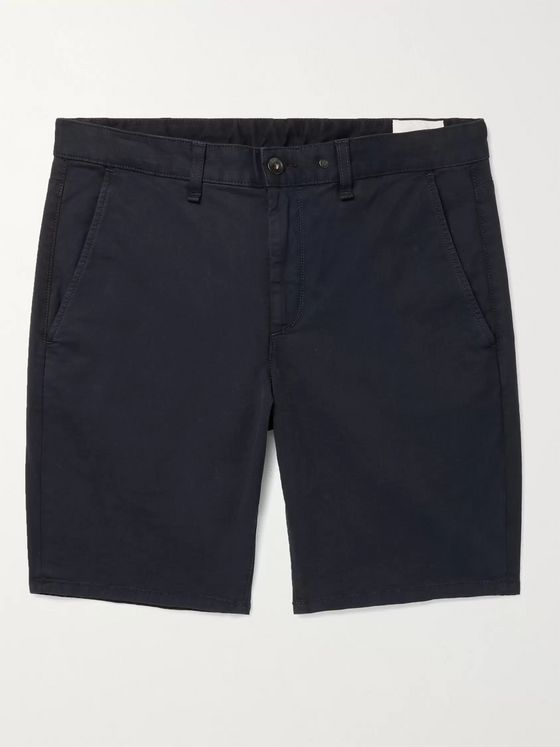RAG & BONE Cotton-Blend Twill Chino Shorts