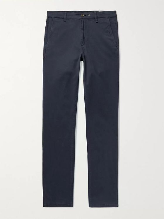 RAG & BONE Fit 2 Slim-Fit Cotton-Blend Twill Chinos