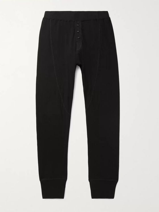 RAG & BONE Gibson Slim-Fit Tapered Cotton-Jersey Sweatpants