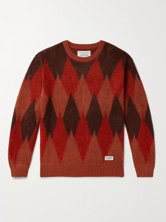 WACKO MARIA Intarsia-Knit Sweater