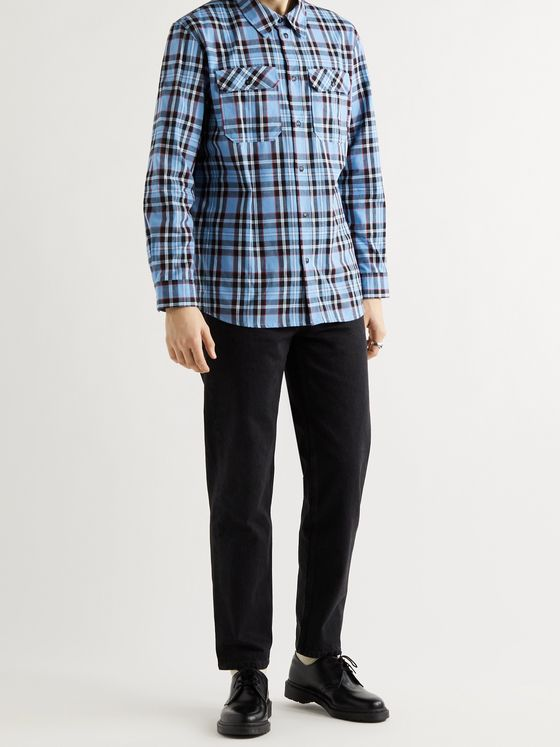 A.P.C. Marceau Checked Cotton-Poplin Shirt
