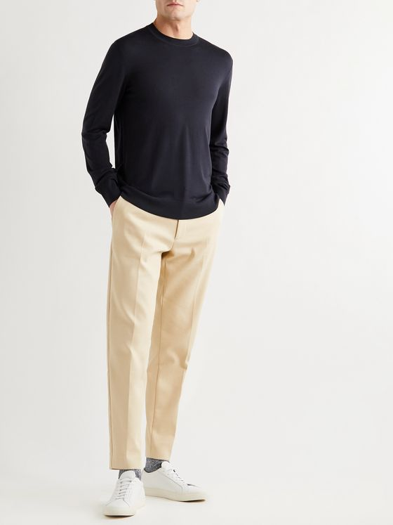 THEORY Regal Slim-Fit Wool Sweater