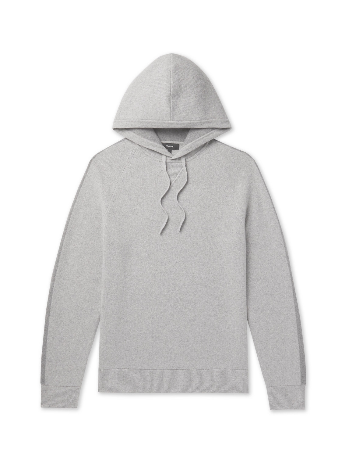 Theory - Crimden Mélange Wool And Cashmere-Blend Hoodie - Men - Gray - Xl