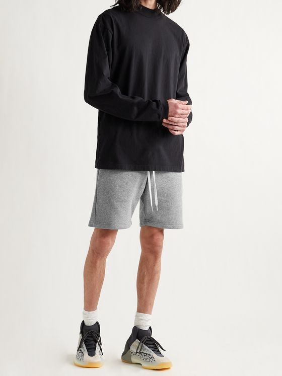 JOHN ELLIOTT Slim-Fit Loopback Cotton-Jersey Drawstring Shorts