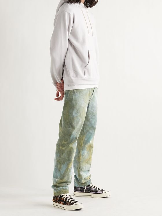JOHN ELLIOTT The Daze Slim-Fit Tie-Dyed Denim Jeans