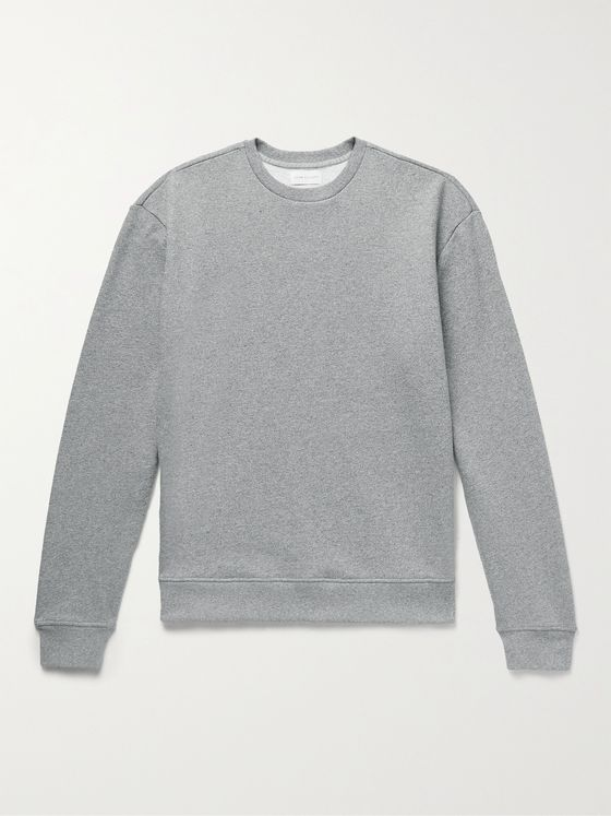 JOHN ELLIOTT Mélange Loopback Cotton-Blend Jersey Sweatshirt
