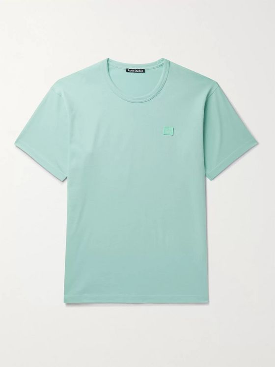 ACNE STUDIOS Nash Logo-Appliquéd Cotton-Jersey T-Shirt