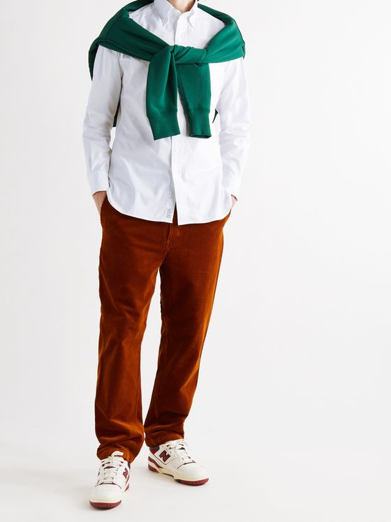 Aimé Leon Dore + Drake's Slim-Fit Button-Down Collar Cotton-Twill Shirt