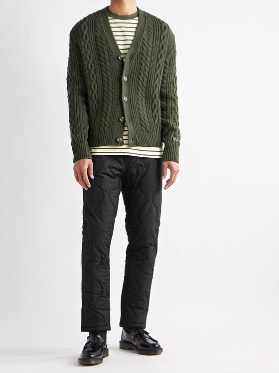 Aimé Leon Dore + Woolrich Quilted Padded Stretch-Ripstop Trousers