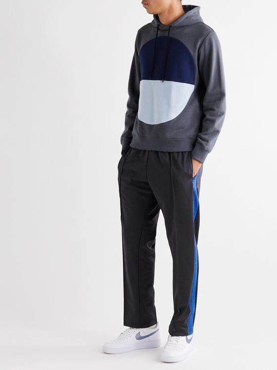 Aloye Striped Jersey Track Pants