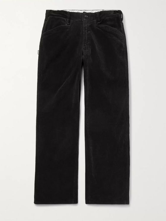 NEIGHBORHOOD ATV WP Cotton-Blend Corduroy Trousers