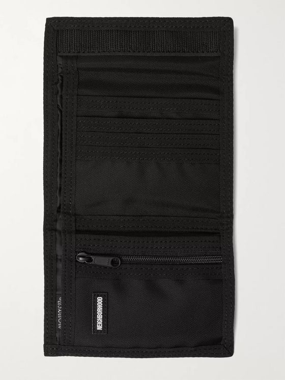 NEIGHBORHOOD + Porter-Yoshida & Co Bandana-Print Canvas Billfold Wallet
