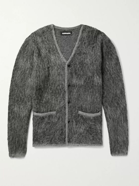 NEIGHBORHOOD Mélange Textured-Knit Cardigan