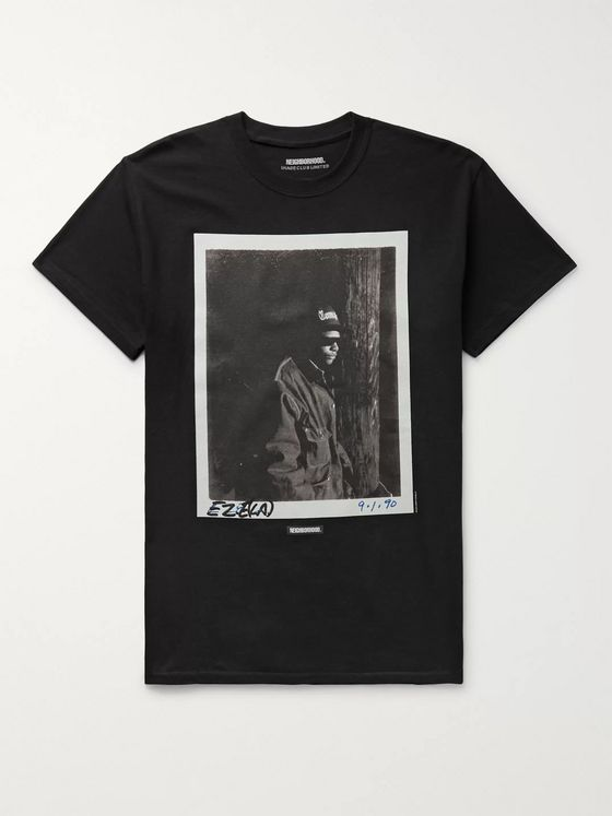 NEIGHBORHOOD + Image Club Limited N.W.A. Printed Cotton-Jersey T-Shirt