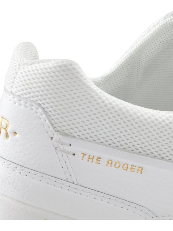 On The Roger Centre Court Faux Leather Sneakers