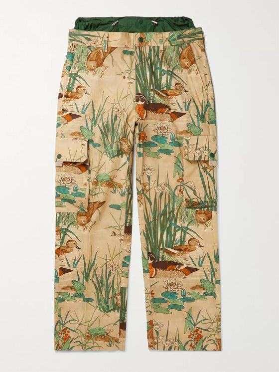 MONCLER GENIUS 1 Moncler JW Anderson Printed Cotton-Twill Cargo Trousers