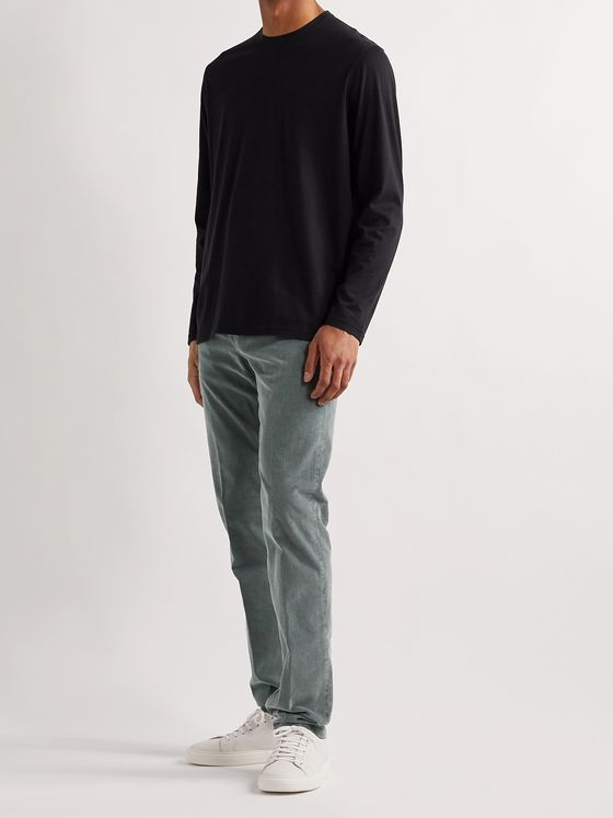 Kiton Cotton-Blend Corduroy Trousers