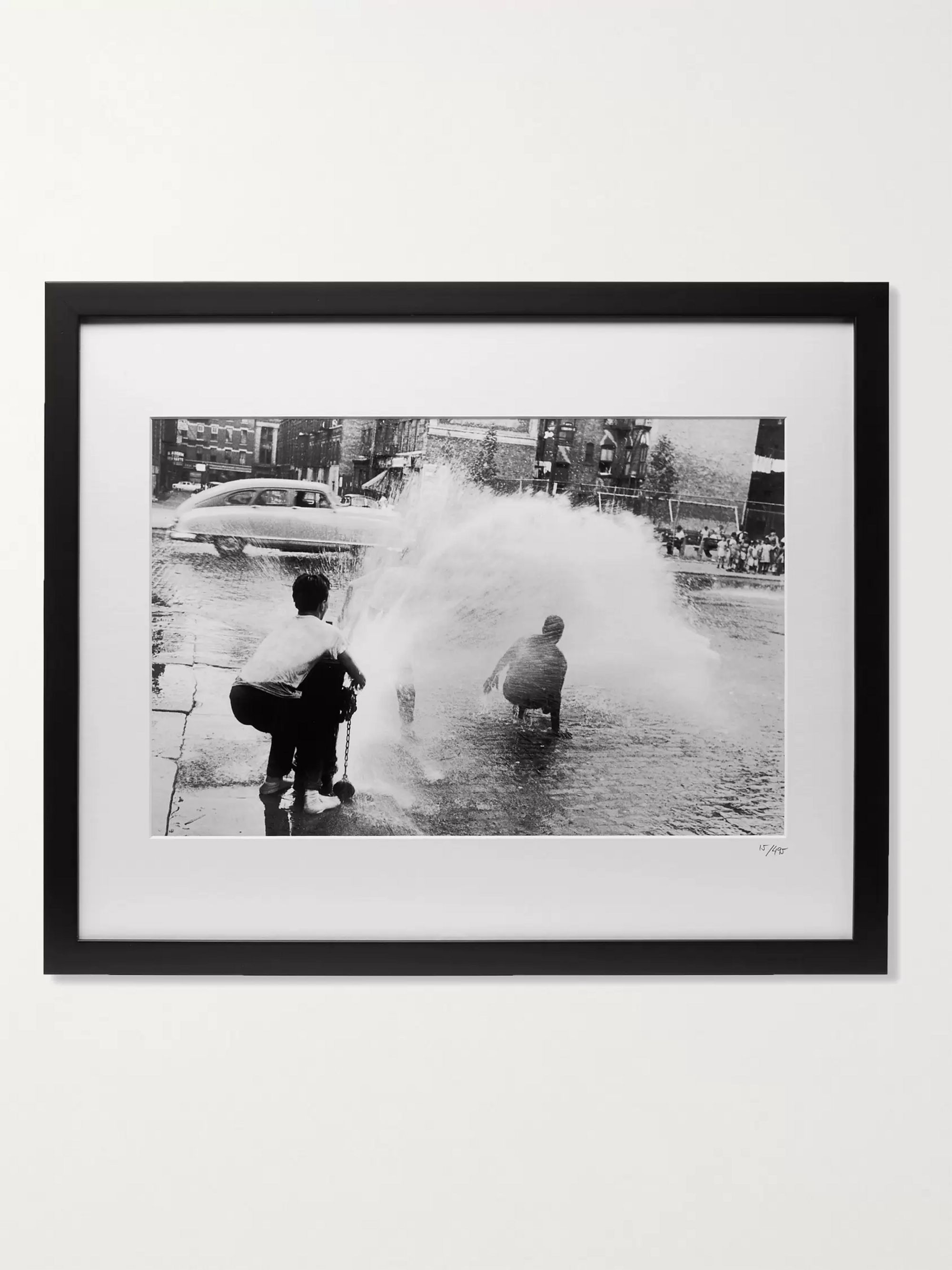 "Sonic Editions Framed 1960 Heat Wave in NYC Print, 20"" x 16"""