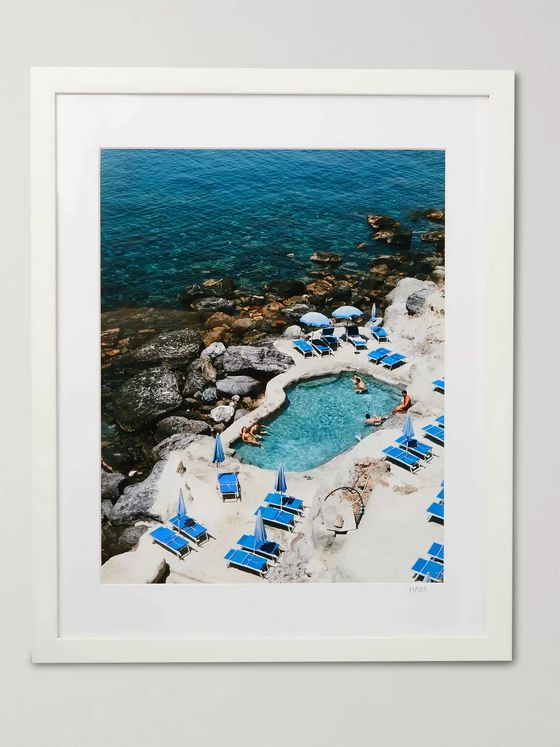 Sonic Editions Framed 2019 Club Scannella Ischia Print, 16