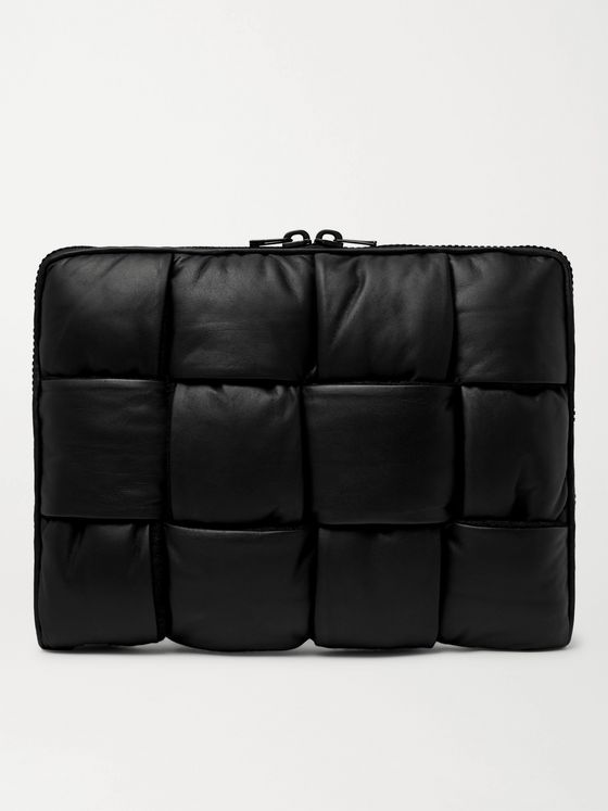 BOTTEGA VENETA Intrecciato Padded Leather Pouch