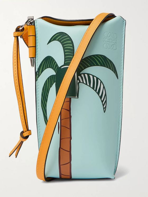 LOEWE + Ken Price Printed Leather Pouch