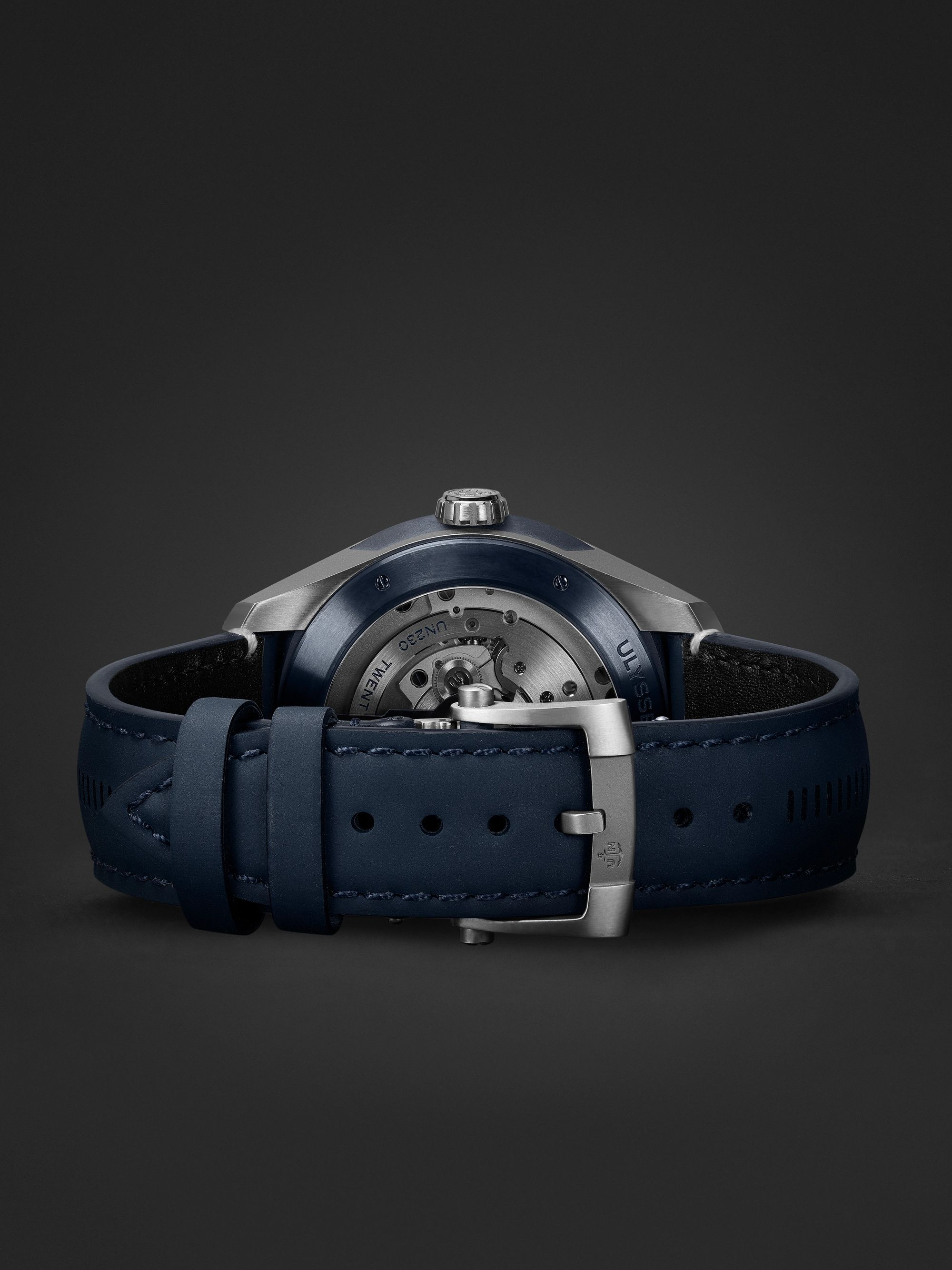 Ulysse Nardin Freak X Automatic 43mm Titanium and Leather Watch, Ref. No. 2303-270.1/03