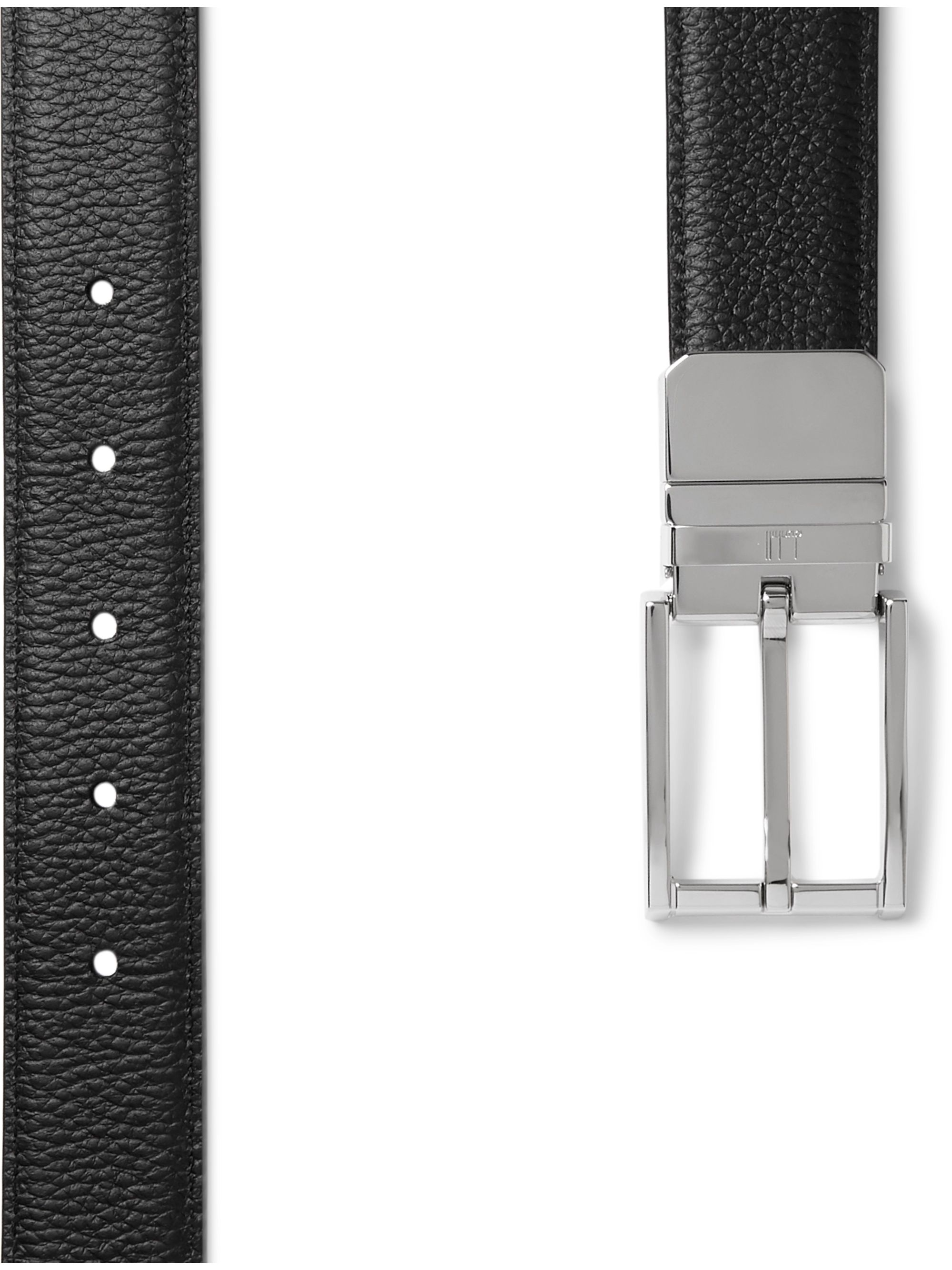 Dunhill 3cm Reversible Leather Belt