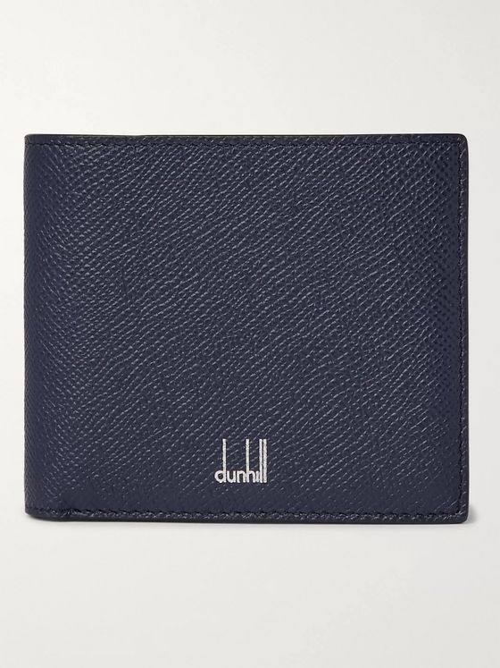 Dunhill Full-Grain Leather Billfold Wallet