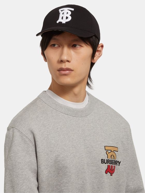 Burberry Logo-Embroidered Cotton-Twill Baseball Cap