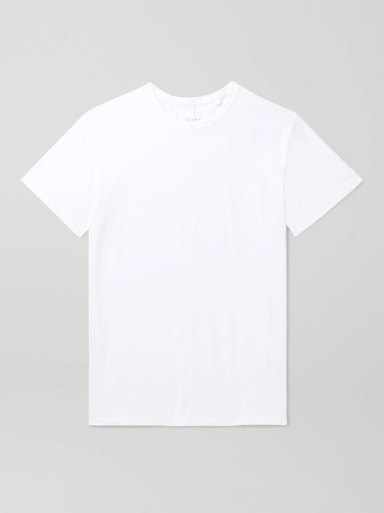 rag & bone Organic Cotton-Jersey T-Shirt