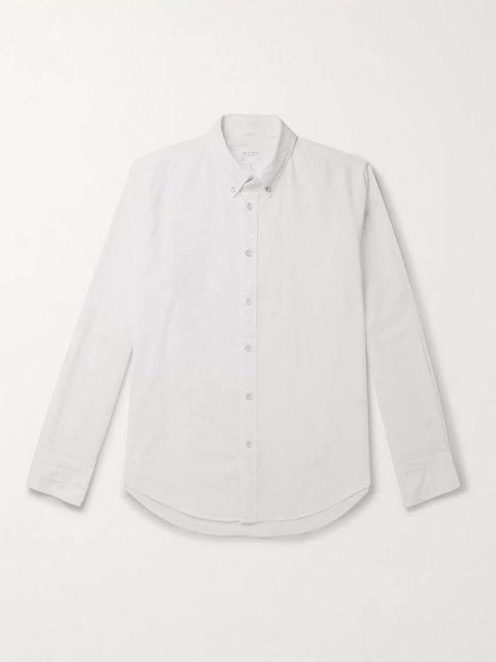 rag & bone Fit 2 Tomlin Slim-Fit Button-Down Collar Cotton Oxford Shirt