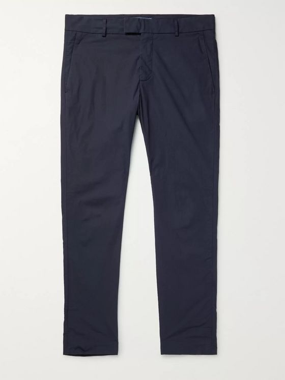 FRESCOBOL CARIOCA + Johannes Huebl Tapered Cotton-Twill Chinos